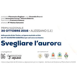 """Opera """"Svegliare L'Aurora"""" dedicata a Don Tonino Bello"""